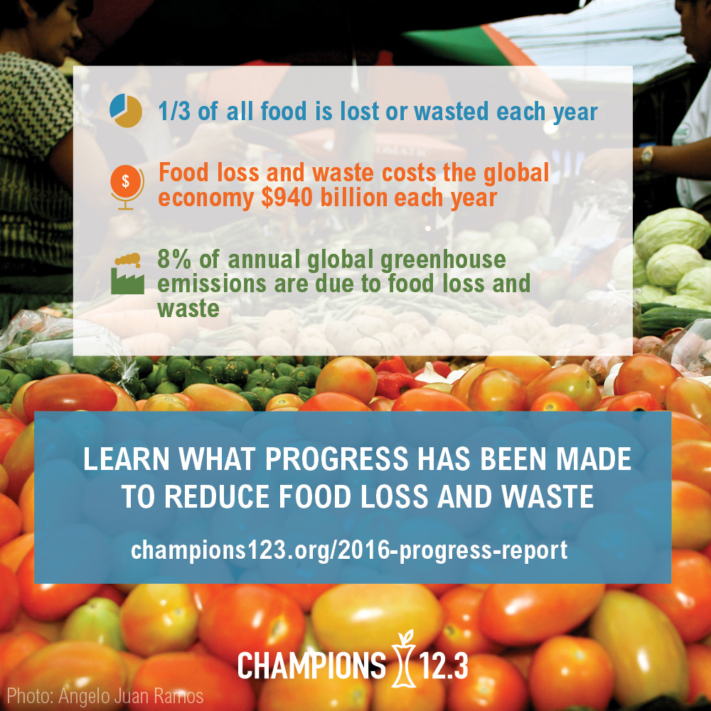 The Consumer Goods Forum Joins Champions 12.3 Coalition to Mobilise Progress to Halve Food Waste